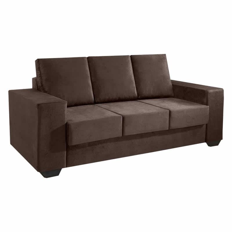 Super Sofa Retratil 3 Lugares Diamante 2 Metros Promocao Machost Co Dining Chair Design Ideas Machostcouk