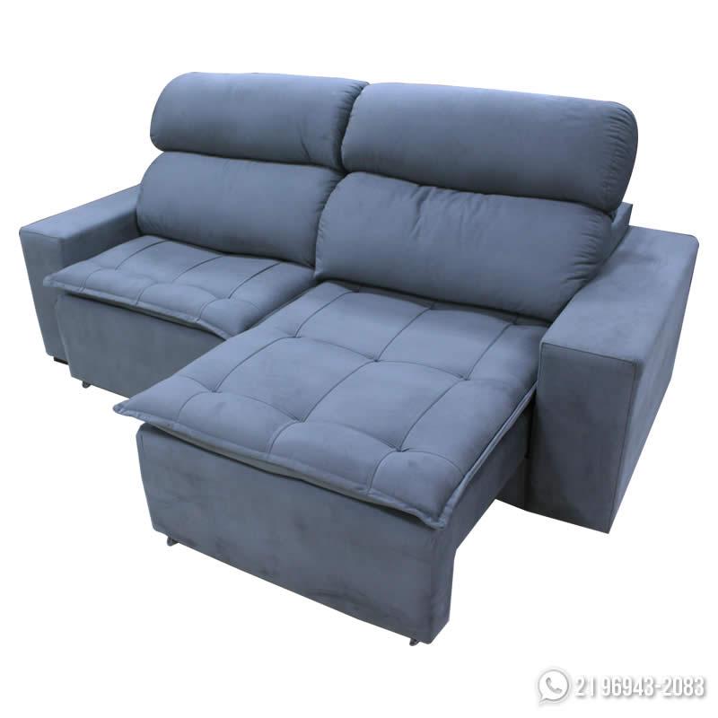 Sofa retratil sofa review for Sofa zeus retratil e reclinavel