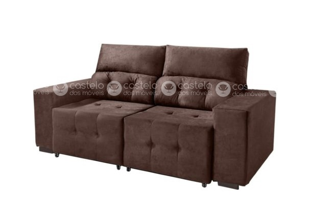 Sofa Retratil E Reclinavel Rubi