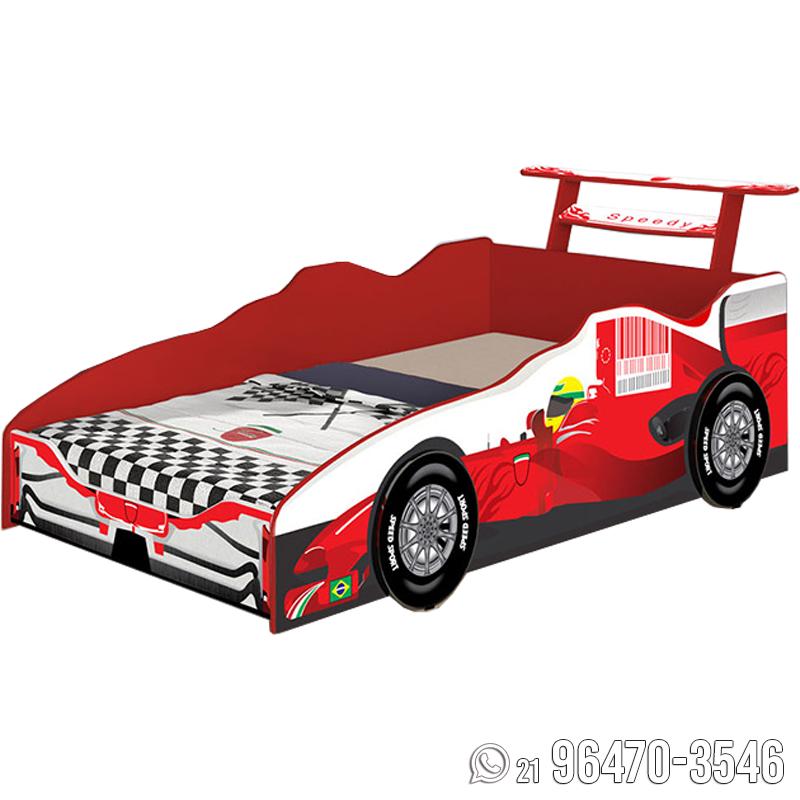2ce3b62c83b5c Cama Infantil Carro Fórmula 1 - Vallen Móveis - Loja de Móveis e ...