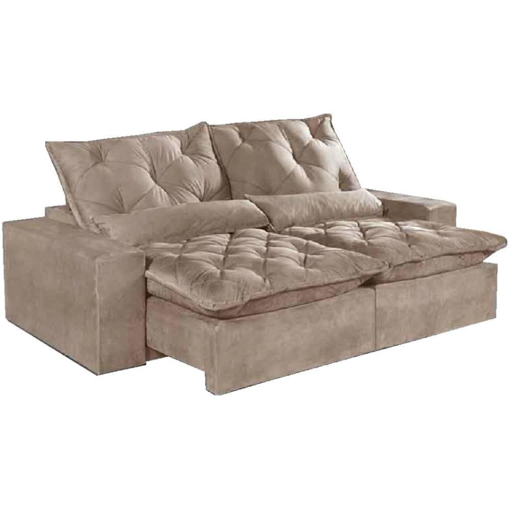 Tremendous Sofa Retratil E Reclinavel 4 Lugares Elegance Bege Pdpeps Interior Chair Design Pdpepsorg