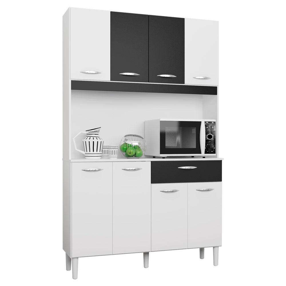 Arm Rio P Cozinha C 8 Portas E 1 Gaveta Kit Poquema Loja De